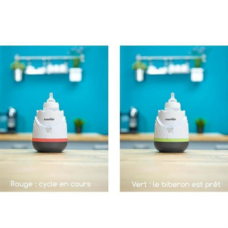 Babymoov – Incalzitor de biberoane (recipiente) pentru casa si masina Tulip Cream