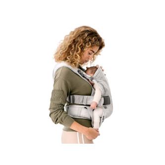 BabyBjorn - Marsupiu anatomic One Air - Greige, 3D Mesh