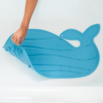 Skip Hop - Moby Covoras de baie antiderapant in forma de balena - Albastru