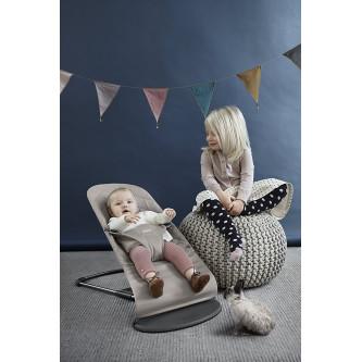 BabyBjorn - Balansoar Bliss Sand Grey, Bumbac