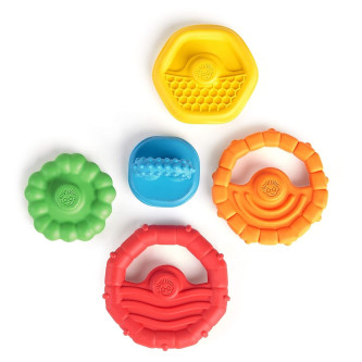 "Baby Einstein - Jucarie de dentitie ""Stacking Teether"""