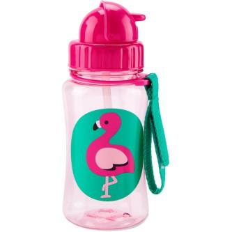 Skip Hop Sticla cu pai Zoo - Flamingo