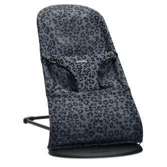 BabyBjorn - Balansoar Bliss Antracite/Leopard Mesh - Editie Limitata