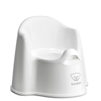 BabyBjorn - Olita cu protectie spate Potty Chair White