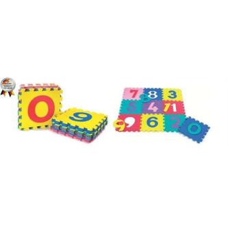 BabyGo - Salteluta de joaca cu cifre si litere Puzzle 36 piese