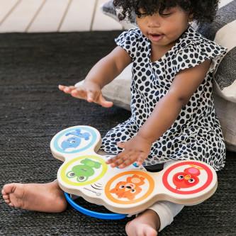 Baby Einstein – Jucarie muzicala de lemn Hape Magic Touch Drum™