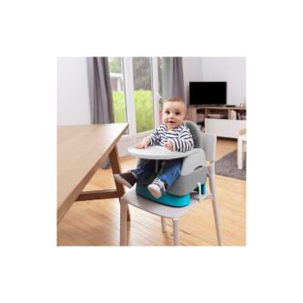 Badabulle - Booster pliabil Home & Go, Grey