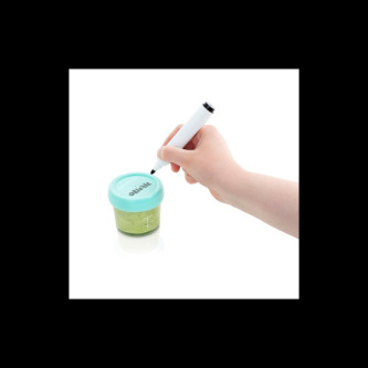 Babymoov - Set 8 boluri gradate din sticla, 100 ml / 220 ml