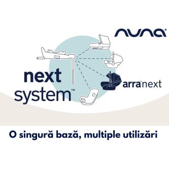 Scoica auto pentru copii Nuna i-Size ARRA Next Granite, 40-85 cm