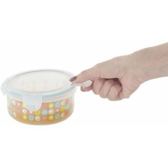 Badabulle - Set 3 boluri ermetice Maxi 500 ml pentru pastrarea hranei