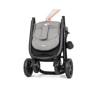Carucior pentru copii Joie multifunctional Litetrax 4 DLX Gray Flannel