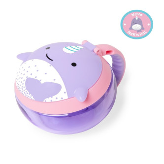 Skip Hop - Cana pentru gustari Zoo – Balena