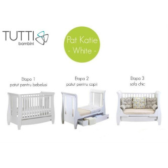 Tutti Bambini - Patut Evolutiv 3 In 1 Katie Alb